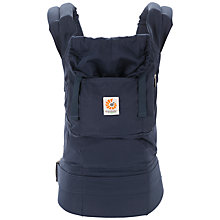 Buy Ergobaby Organic Baby Carrier, Navy Online at johnlewis.com