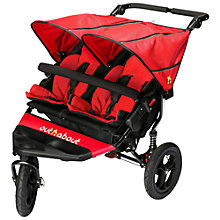 Buy Out 'N' About Nipper V4 Double Pushchair, Red Online at johnlewis.com