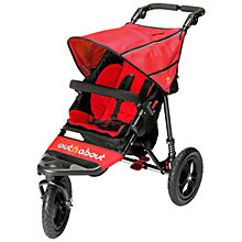 Buy Out 'N' About Nipper 360 Single V4 Pushchair, Red Online at johnlewis.com