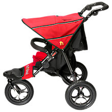 Buy Out 'N' About Nipper V4 Single Pushchair, Red Online at johnlewis.com