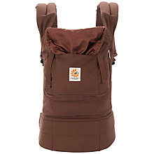 Buy Ergobaby Bundle Of Joy Baby Carrier, Chocolate Online at johnlewis.com