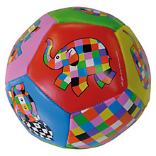 Buy Elmer the Elephant Soft Ball Online at johnlewis.com