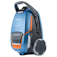 Buy AEG UltraOne UODeluxe Cylinder Vacuum Cleaner, Blue Online at johnlewis.com