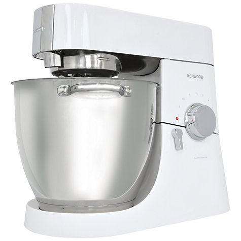 Buy Kenwood KMM025 Major Titanium Stand Mixer, Gloss White Online at johnlewis.com
