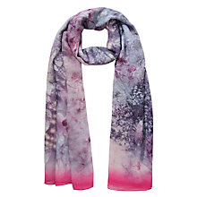 Buy Ted Baker Snow Blossom Wide Scarf, Multi Online at johnlewis.com