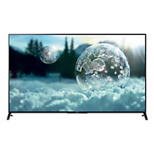 "Buy Sony Bravia KD55X8505 LED 4K Ultra HD 3D Smart TV, 55"", NFC with Freeview HD and 2x 3D Glasses Online at johnlewis.com"