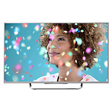 "Buy Sony Bravia KDL50W7 LED HD 1080p Smart TV, 50"" with Freeview HD, Silver with HT-CT370 Sound Bar & Subwoofer, Silver Online at johnlewis.com"