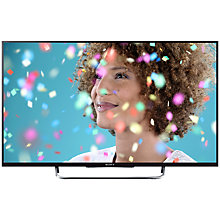 "Buy Sony Bravia KDL50W7 LED HD 1080p Smart TV, 50"" with Freeview HD, Black with HT-CT370 Sound Bar & Subwoofer, Black Online at johnlewis.com"
