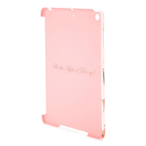 Buy Ted Baker Isonzo Botanical Bloom iPad Mini Case, Pale Pink Online at johnlewis.com