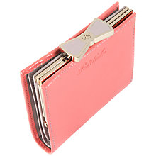 Buy Ted Baker Small Patent Bow Purse, Pink Online at johnlewis.com