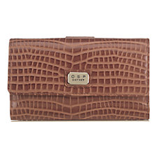 Buy O.S.P OSPREY Como Flapover Baby Croc Purse Online at johnlewis.com