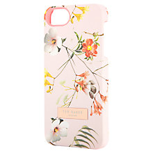 Buy Ted Baker Simeto Botanical Bloom iPhone Case, Pale Pink Online at johnlewis.com