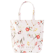 Buy Ted Baker Botcon Botanical Bloom Shopper Bag, Pale Pink Online at johnlewis.com