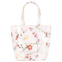 Buy Ted Baker Tancon Small Botanical Bloom Shopper Bag, Pale Pink Online at johnlewis.com
