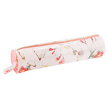 Buy Ted Baker Neras Botanical Bloom Pencil Case, Pale Pink Online at johnlewis.com