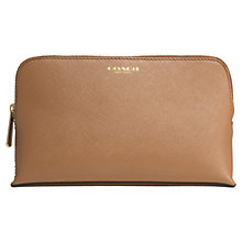 Buy Coach Saffiano Leather Small Cosmetic Case Online at johnlewis.com