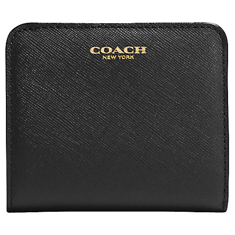 Buy Coach Saffiano Small Leather Wallet Online at johnlewis.com