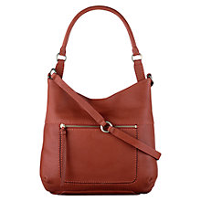 Buy Radley Large Berkley Leather Tote Bag, Navy Online at johnlewis.com