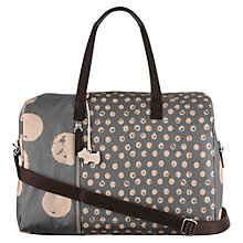 Buy Radley Large Moon Dots Fabric Multiway Bag, Grey Online at johnlewis.com