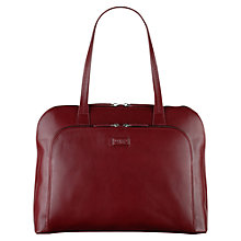 Buy Radley Large Pippin Leather Tote Bag, Red Online at johnlewis.com
