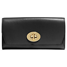 Buy Coach Madison Leather Slim Envelope Purse Online at johnlewis.com