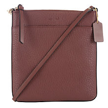 Buy Coach Bleecker Crossbody Pebbled Leather Bag Online at johnlewis.com