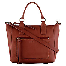 Buy Radley Medium Berkley Leather Multiway Bag, Orange Online at johnlewis.com