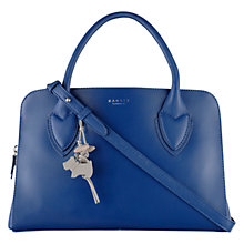 Buy Radley Medium Aldgate Leather Tote Bag, Blue Online at johnlewis.com