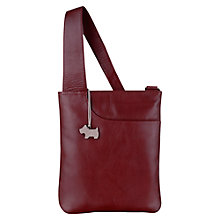 Buy Radley Medium Pocket Leather Across Body Bag, Red Online at johnlewis.com