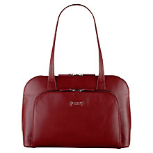 Buy Radley Medium Pippin Leather Tote Bag, Red Online at johnlewis.com