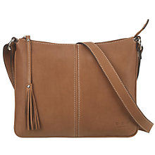 Buy O.S.P OSPREY Nappa Corsica Leather Cross Body Bag Online at johnlewis.com