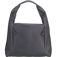 Buy O.S.P OSPREY Nappa Leather Essen Shoulder Hobo Bag, Navy Online at johnlewis.com