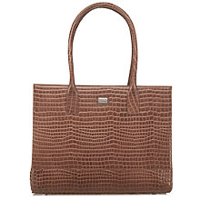 Buy O.S.P OSPREY Baby Croc Leather Como Work Tote Bag Online at johnlewis.com