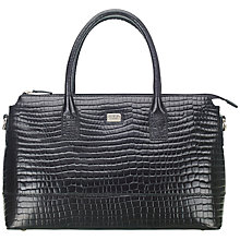 Buy O.S.P OSPREY Crocodile Leather Work Bag Online at johnlewis.com