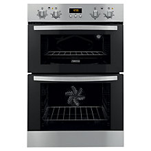 Buy Zanussi ZOD35511XK Double Electric Oven, Stainless Steel Online at johnlewis.com