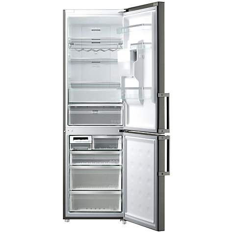 Buy Samsung RL58GPEIH Non-Plumbed Fridge Freezer, Inox Steel Online at johnlewis.com