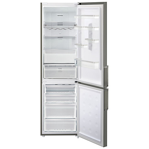 Buy Samsung RL60GZEMG Fridge Freezer, A++ Energy Rating, 60cm Wide, Gun Metal Online at johnlewis.com