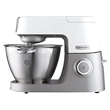 Buy Kenwood KVC5000 Chef Sense Stand Mixer, White Online at johnlewis.com