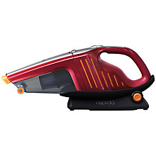Buy AEG AG6106 Rapido Handheld Vacuum Cleaner, Red Online at johnlewis.com
