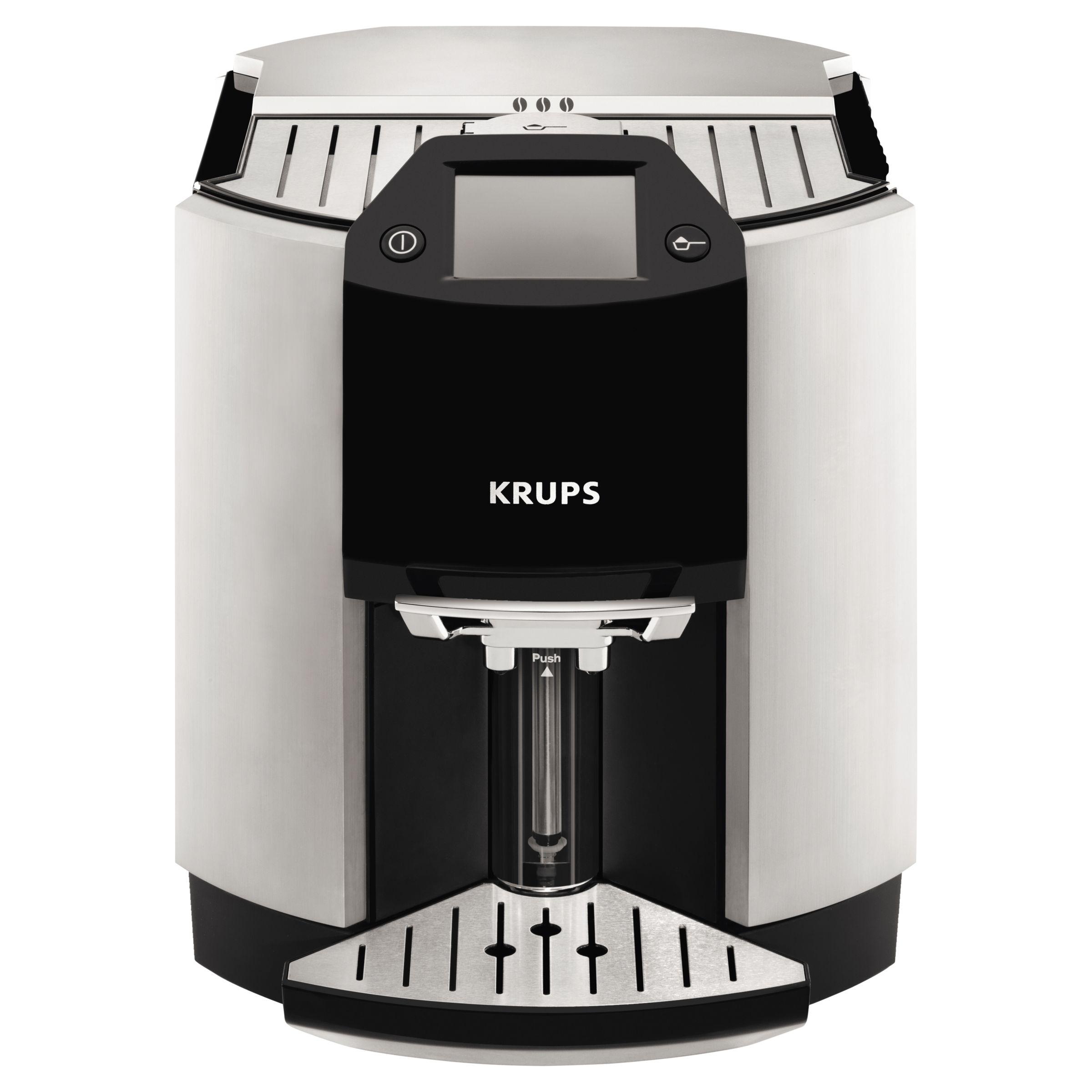 Krups KRUPS EA9010 Espresseria Bean-to-Cup Coffee Machine, Silver