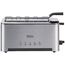 Buy Kenwood kMix TTM610 Persona 2-Slice Toaster, Stainless Steel Online at johnlewis.com