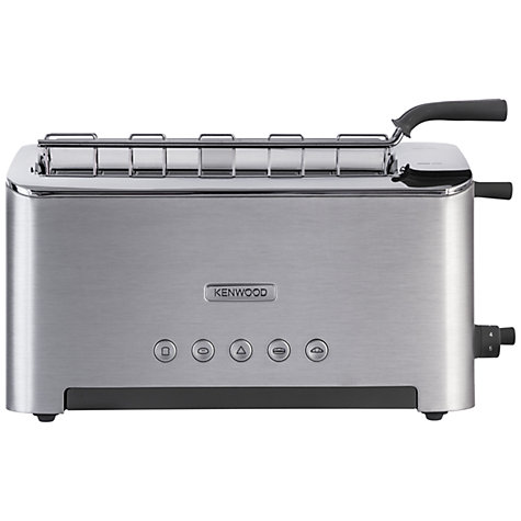 Buy Kenwood kMix TTM610 Persona 2-Slice Toaster, Aluminium Online at johnlewis.com