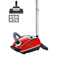 Buy Bosch BSGL5PT2GB Power Animal Cylinder Vacuum Cleaner, Red Online at johnlewis.com