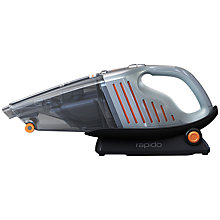 Buy AEG AG6106WD Rapido Handheld Vacuum Cleaner, Blue Online at johnlewis.com