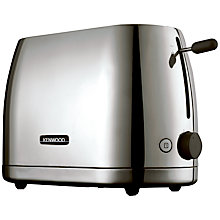 Buy Kenwood kMix TTM550 Turin 2-Slice Toaster, Polished Stainless Steel Online at johnlewis.com