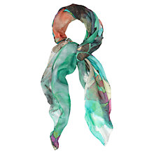 Buy Jaeger Floral Splash Scarf Online at johnlewis.com