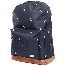 Buy Spiral Birds Backpack, Black Online at johnlewis.com