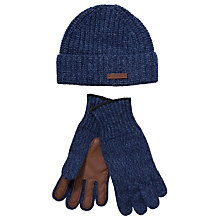 Buy Polo Ralph Lauren Hat and Glove Set, One Size, Blue Online at johnlewis.com