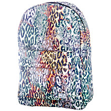 Buy Spiral Leopard Print Backpack, Brown Online at johnlewis.com