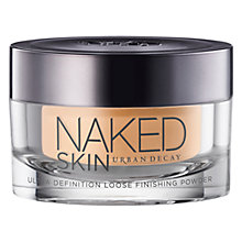 Buy Urban Decay Naked Skin Ultra Definition Loose Finishing Powder Online at johnlewis.com